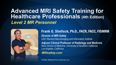 Advanced MRI Safety Training