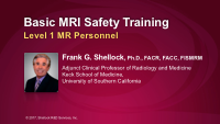 Basic MRI Safety Training