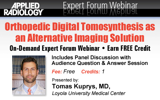 Orthopedic Digital Tomosynthesis as an Alternative Imaging Solution