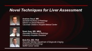 Novel Techniques for Liver Assessment